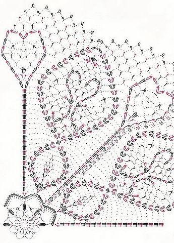 Схемы вязание крючком салфетки схемы бесплатно