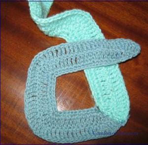 плетение коврика схема 1
