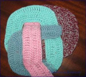 плетение коврика схема 4