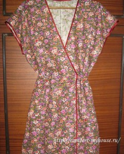 как сшить халат без выкройки (6)