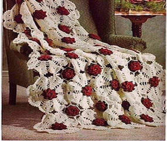 Вязание пледов и покрывал