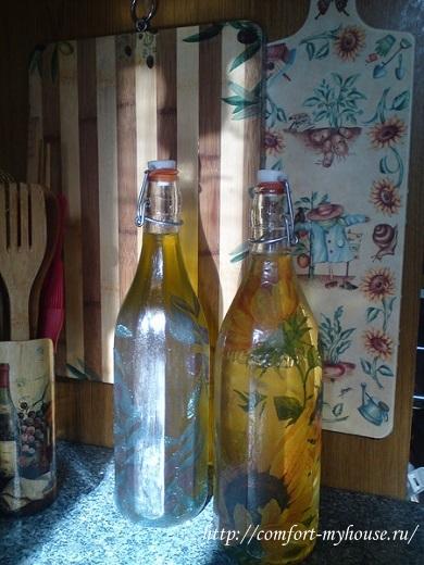 dekupazh stekljannyh butylok