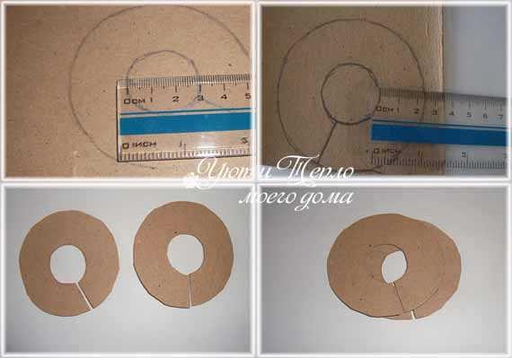 Как сделать помпон из пряжи на вилке фото 270