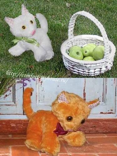 podushki koty