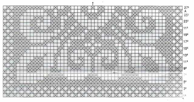 shema motiva kvadratnogo kovrika
