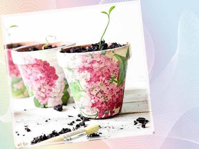 dekupazh cvetochnogo gorshka