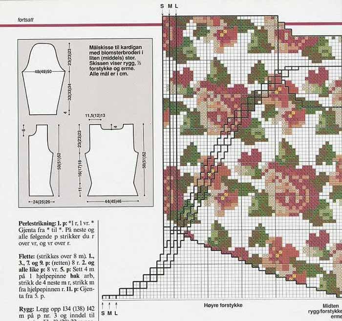 sxema risunka s rozami