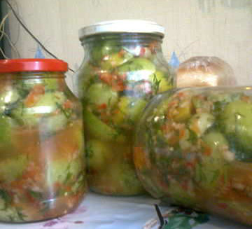 pomidory zelenye ostrye