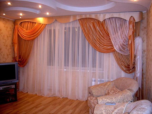 zanavesi salona tekstil' dizajn