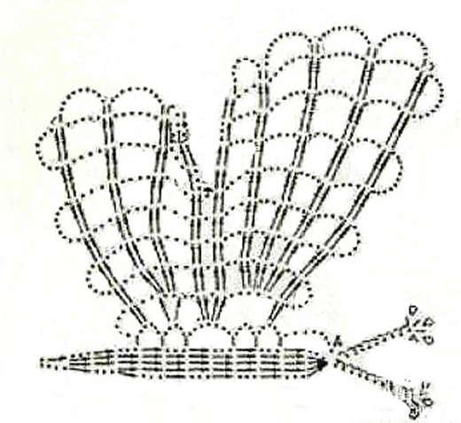 babochka krjuchkom shema vjazanija 1