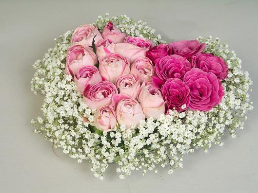 serdce iz roz