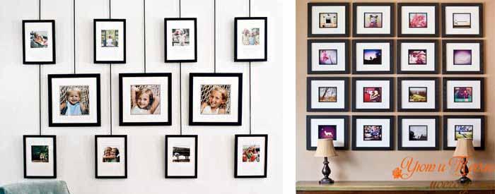 fotografii na stene