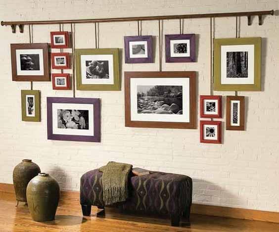 razmeshhenie fotografij v ramkah na stene