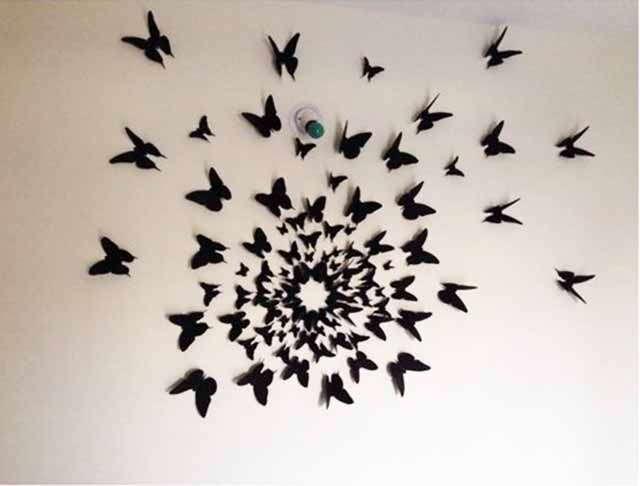 babochki na stene