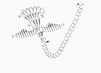 cvetok dlja korzinki krjuchkom shema