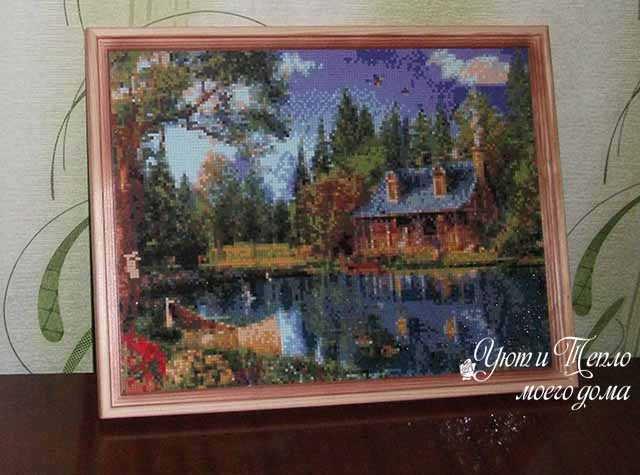 almaznaja mozaika pejzazh