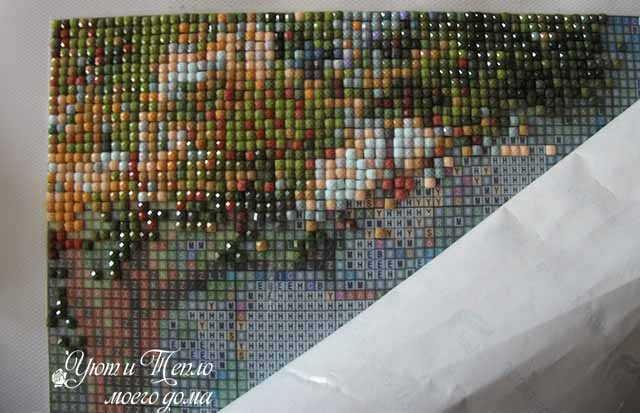 nachalo vykladyvanija almaznoj mozaiki