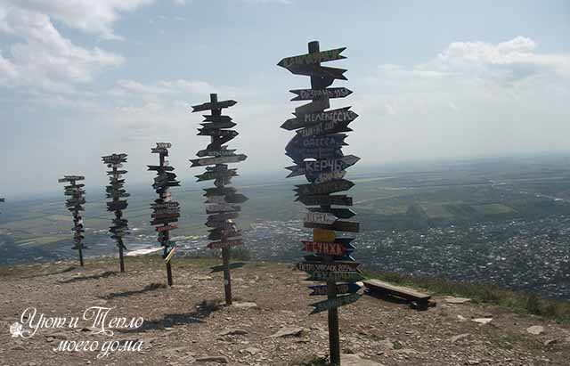gora mashuk: ukazateli gorodov