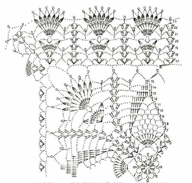 shema azhurnoj kvadratnoj salfetki