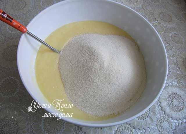 mannik-smes vseh ingredientov