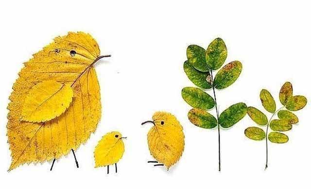 ptihki iz listjev