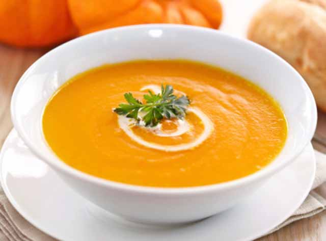 tykvennyj sup s imbirem