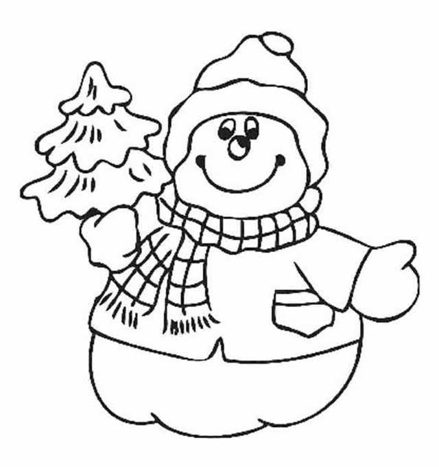 radostnyj snegovik