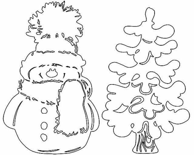 snegovichok u elochki
