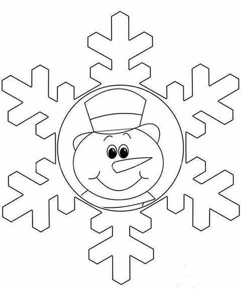 snezhinka snegovik