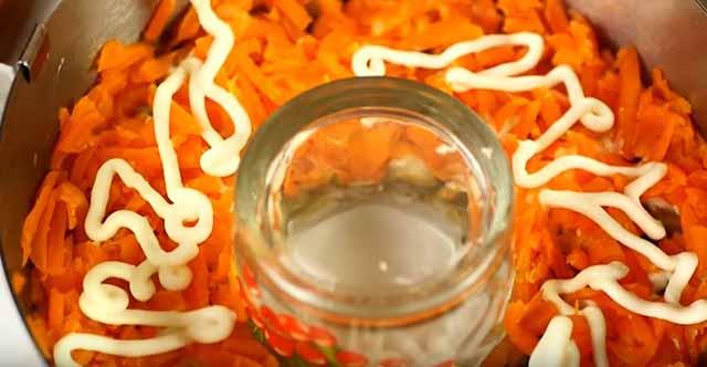 sloj otvarnoj morkovi