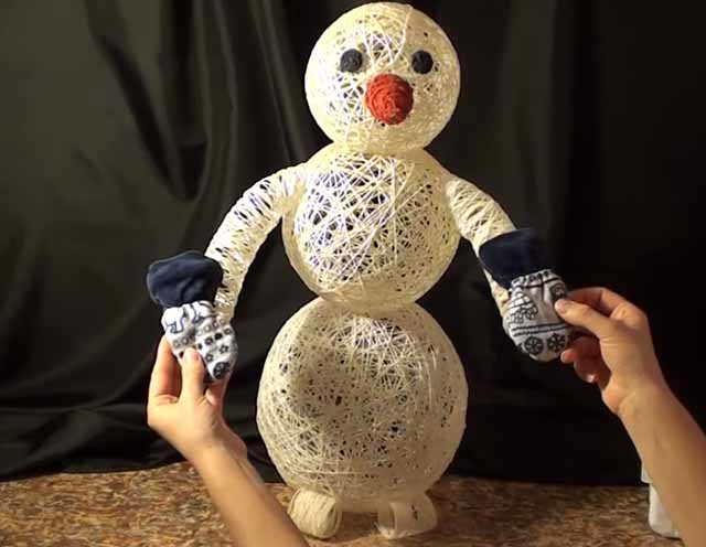 primerka varezhek snegovichku