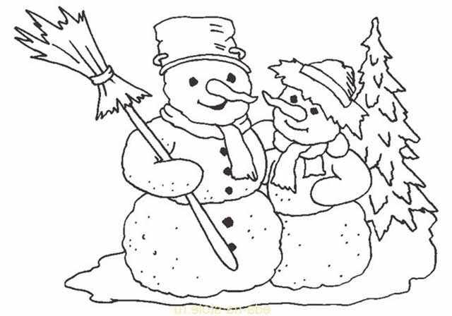 izobrazhenie dvuh snegovikov