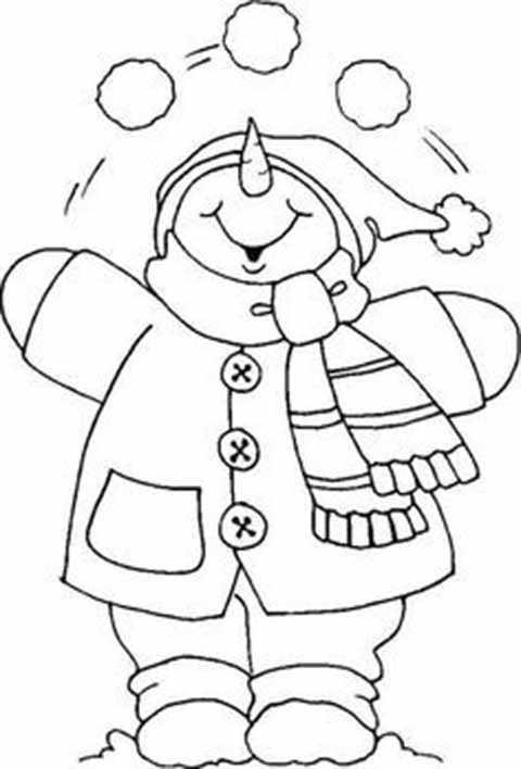 trafaret hohochushchego snegovika