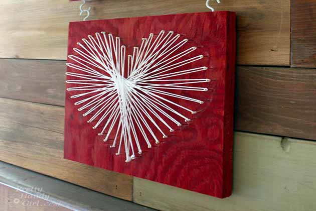 serdce string art