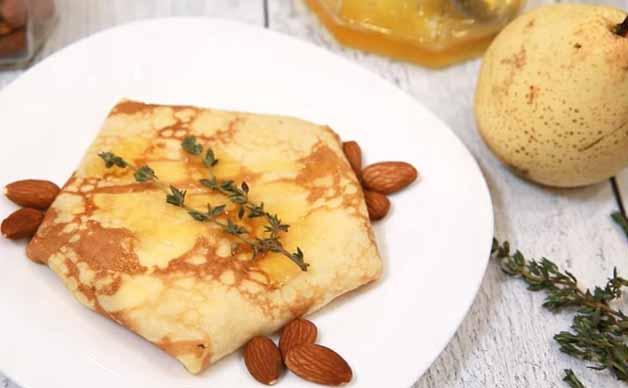 blinj s grusej i sirom
