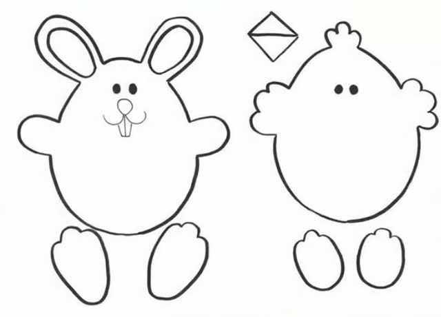 shablony cyplenka i zajki