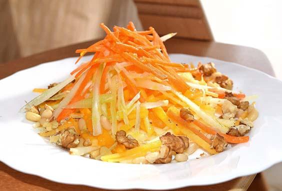 salat iz tykvy