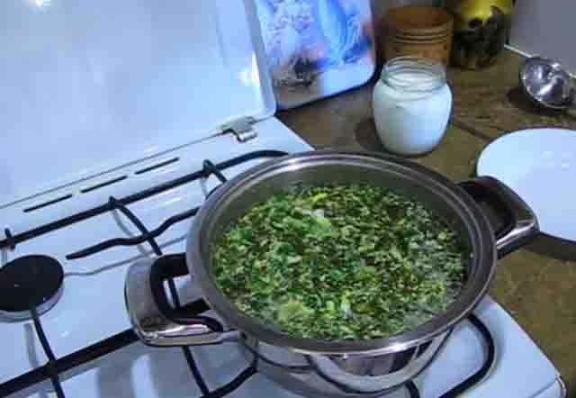 shchavelevyj sup so vzbitymi yajcami