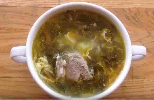 shchavelevyj sup s myasom