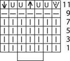 skhema uzora spinki i polochek