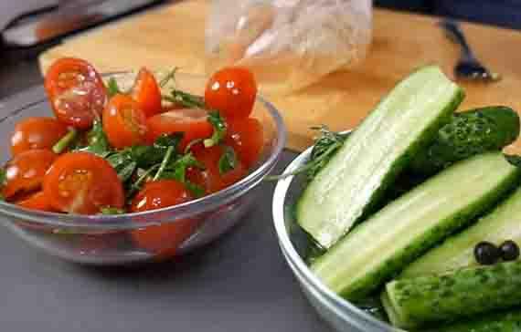 malosol'nye ogurcy i pomidory