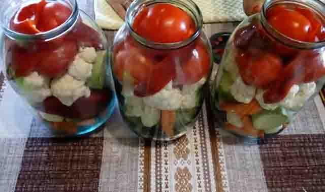 ovoshchi v 2 litrovyh bankah