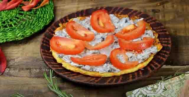 dol'ki pomidor v kabachkovom torte