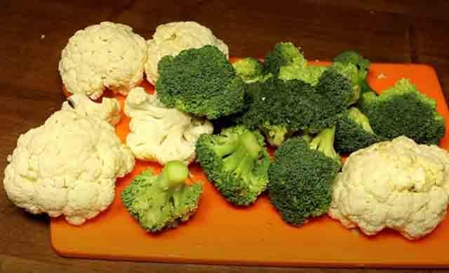 cvetnaya kapusta i brokkoli