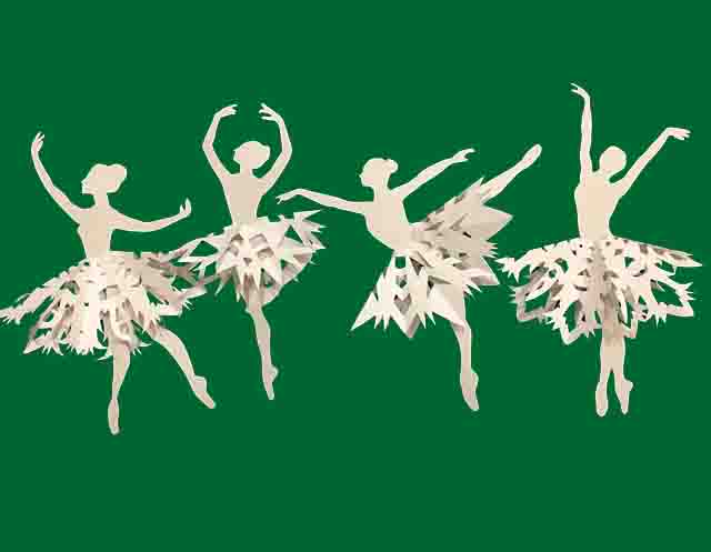 balerinki iz bumagi