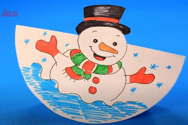 snegovichok iz bumagi