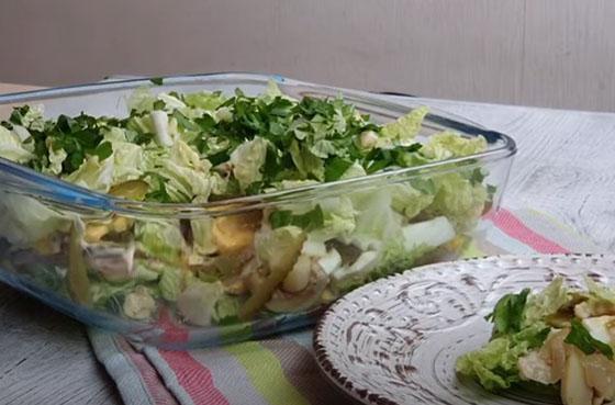 prazdnichnyj salat s pekinkoj