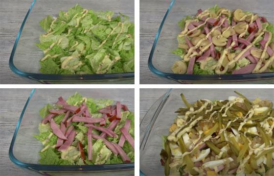 prigotovlenie salata iz pekinki sloyami
