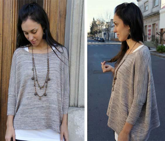 kreativnyj zhenskij pulover
