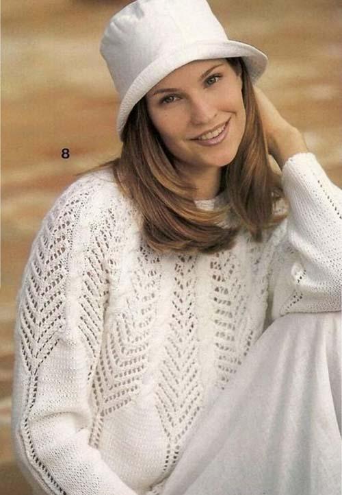 pulover s krugloj koketkoj